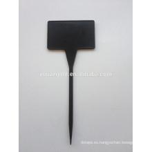 Etiquetas TL de planta de plástico Black Garden