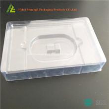 bandeja de plástico receptor sem fio com papelão