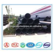 Трубы гофрированные вентиляционные HDPE с стальной лентой усилены