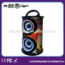 BQ-06 Card Reader Portable Wooden Speaker with fm Radio and SD USB Input