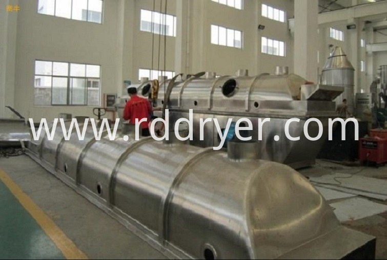 Rectilinear Vibrating Fluid Bed Drying Equipment
