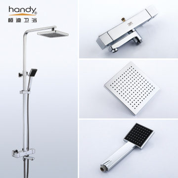 Pengadun pancuran mandi Thermostatic Square