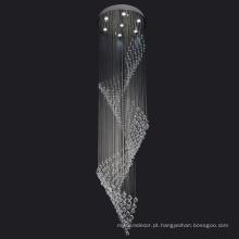 casamento pendurado lustre de cristal de decorações de lâmpada