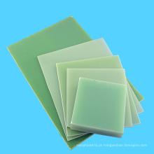Folha 3240 plástica verde da cola Epoxy da isolação elétrica