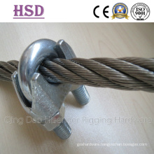 Wire Rope Clips, Us Type, DIN741, Us Mellable a Type, B Type, Fastener, Rigging Hardware, Marine Hardware