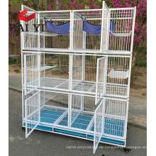 Fabrik Preis Großhandel Outdoor Indoor Folding Big Large Metall Haustier Katze Käfig