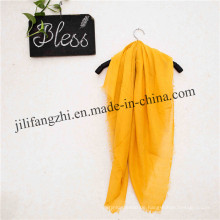 Woven Polyester Lady Plain Schal Voile Stoff