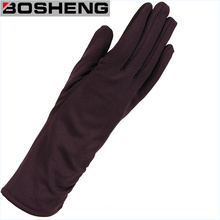 Fashion Women Opera Long Fabric Arm Gloves