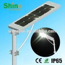 Tudo em uma luz de rua solar, tudo em uma luz de rua solar conduziu a bateria de lítio 30w