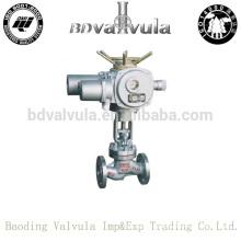 Fundición a216 wcb válvula de globo motorizado