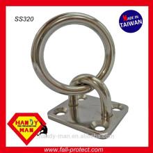 SS320 Marine Deck Hardware Aço inoxidável 316 Tie Ring Plates
