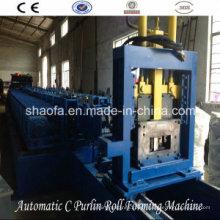 Petit pain automatique de Purlin de C formant la machine (AF-300)