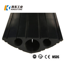 Hot Selling Three Channel Electriduct Traffic Wire Speed Bumps Rubber Cable Protector