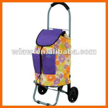 Two wheels shopping trolley bag