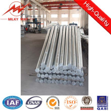 8m 2.5kn Octagonal Galvanized Steel Distribution Utility Pole