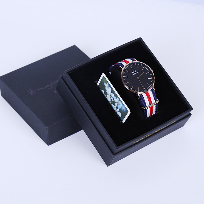 Top Grade Paper Watch Disply Gif Box For Men