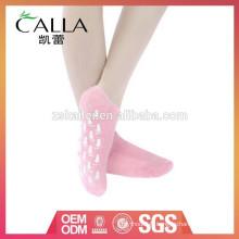 chaussettes de gel de silicone de gel de chaussette de station thermale