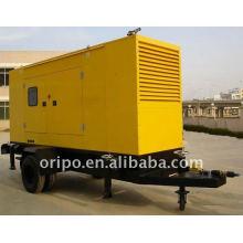 500kw Jichai engine trailer mounted diesel generator set