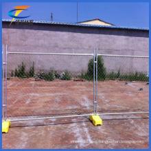 Paneles de valla de alambre de metal soldado Valla temporal galvanizada