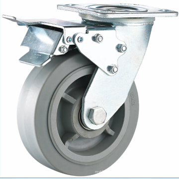 TPR Heavy Duty Caster mit Kugellager