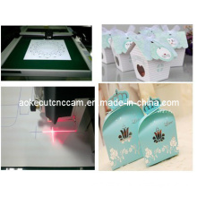 PP Plastic Folding Box Digital Cutting Machine