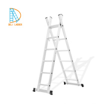 5.34m Aluminum Roof Ladders, Free standing tree standing extension ladder, aluminum foldable attic ladder