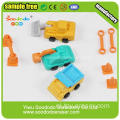 Graafmachine Truck Car Shaped Puzzel Crazy Erasers