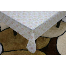 Printed pvc lace tablecloth by roll