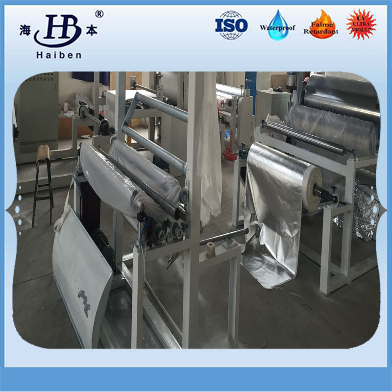 machine of aluminized fiberglass fabric-11