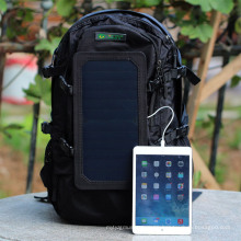 Venta al por mayor caliente 2016 nuevo banco solar de la energía solar del morral del panel para el ordenador portátil del iPhone de los teléfonos móviles (SB-168)