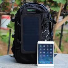 Venda por atacado Hot Selling 2016 New Solar Panel Backpack Banco de energia solar para telefones celulares Laptop para iPhone (SB-168)