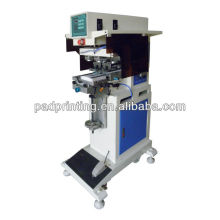 HP-160BYN Pneumatic máquina de impressão de etiqueta de pescoço de 2 cores com copo de tinta