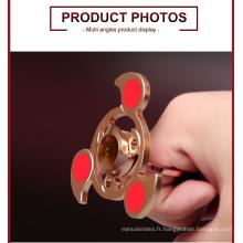 Spinner rotatif à la main de style 2017 le plus récent pour le soulagement de la masse en laiton