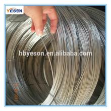 Baixo preço eletro galvanizado fio de ferro de costura