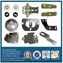 Custom Aluminium Sheet Metal Fabrication Machined Assembly Parts