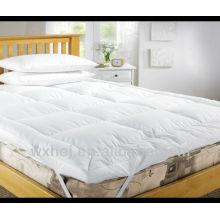 100% poliéster enchimento de alta qualidade acolchoado hotel matress capa