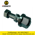 "1""1/4-7x 4"" Excavator Plow Black Bolt and Nut"