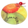 Round Tempered Glass Cutting Board