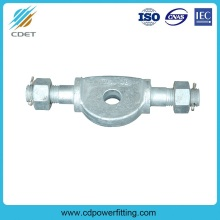 Top Quality for Link Fitting,Link Fitting For Substation,Connecting Fitting,Link Fitting For Power Plant Manufacturers and Suppliers in China Clevis Hinge for overhead transmission line supply to Western Sahara Importers