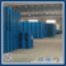 Heavy duty stacking plastic pallet