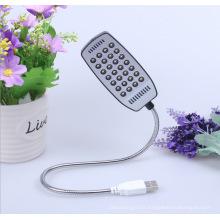 Hot sales stall petite lumière de nuit / clavier portable led light usb