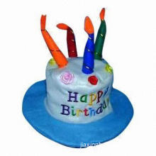 Birthday Cake Candle, No Dripping, No Smoking, Nontoxic When Burning, Various Designs are Available