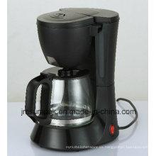 4-6 tazas de vidrio barata portátil goteo portátil de café