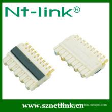 5 pares de terminales de conexión de 110 hilos