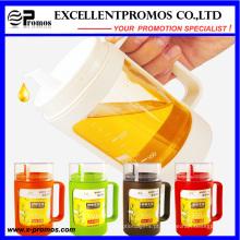 Colorido personalizado logotipo 350 ml quente vendendo vidro óleo pot (EP-LK57276)