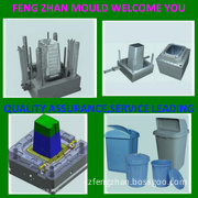 Hot Sale Injection Plastic Waste Bin Mould