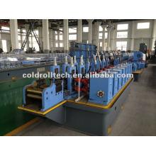 máquina de fabricación de tubos de acero al carbono