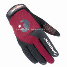 Cycling Full Finger Sports Glove Silicone Print Montain Bike Motorcycle