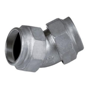 45 Degree Equal Elbow Butt Welded Pipefitting