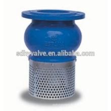 Pie de hierro 125 clase PN16 DN50-DN300 válvula